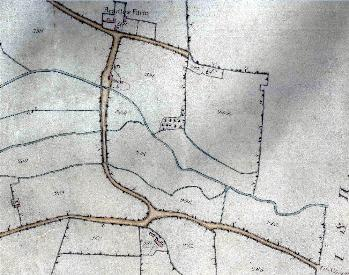 Beadlow on the Clophill inclosure map of 1826 [MA55]
